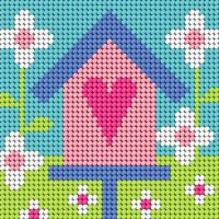 Birdhouse - Starter Tapestry Kit