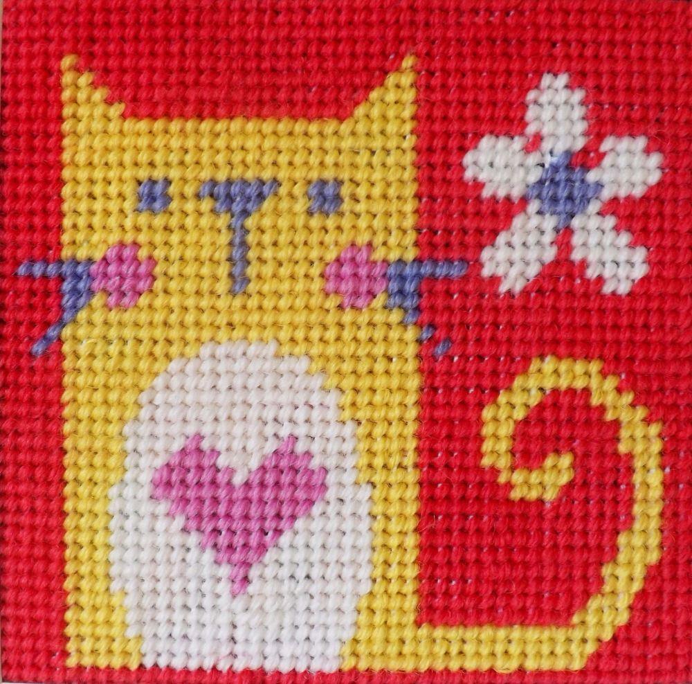 Cat - Starter Tapestry Kit