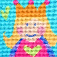 Princess - Starter Tapestry Kit