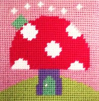 Toadstool - Starter Tapestry Kit