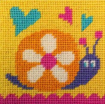 Snail - Starter Tapestry Kit