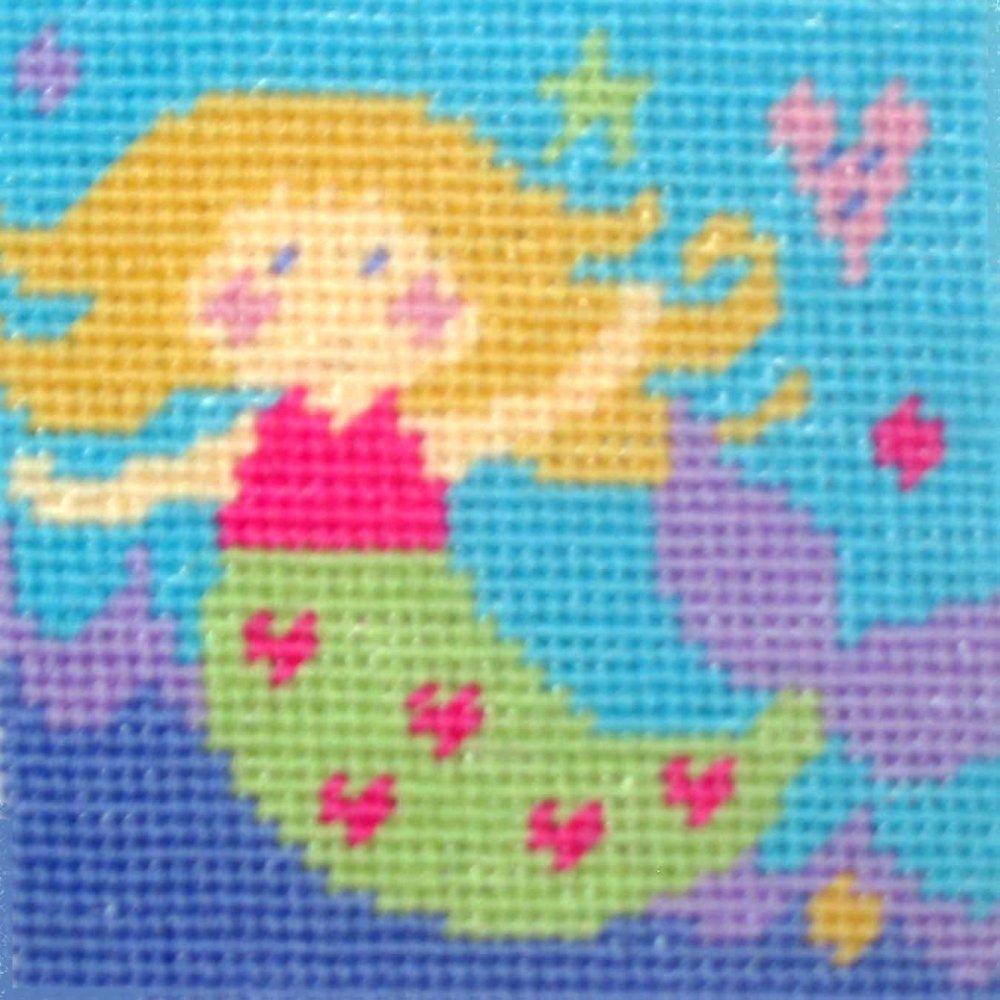 Mermaid - Starter Tapestry Kit