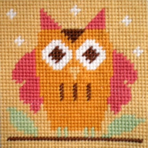 Owl - Starter Tapestry Kit