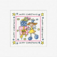 Happy Christmas Card Kit - Heritage Crafts