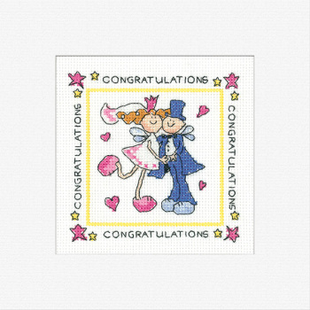 Fairy Wedding Card Kit - Heritage Crafts