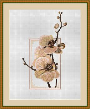 Orchid Cross Stitch - Luca-S