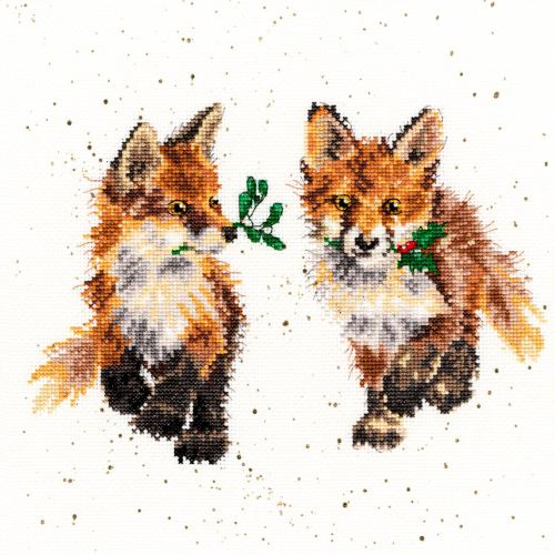 Glad Tidings - Hannah Dale Cross Stitch - Bothy Threads