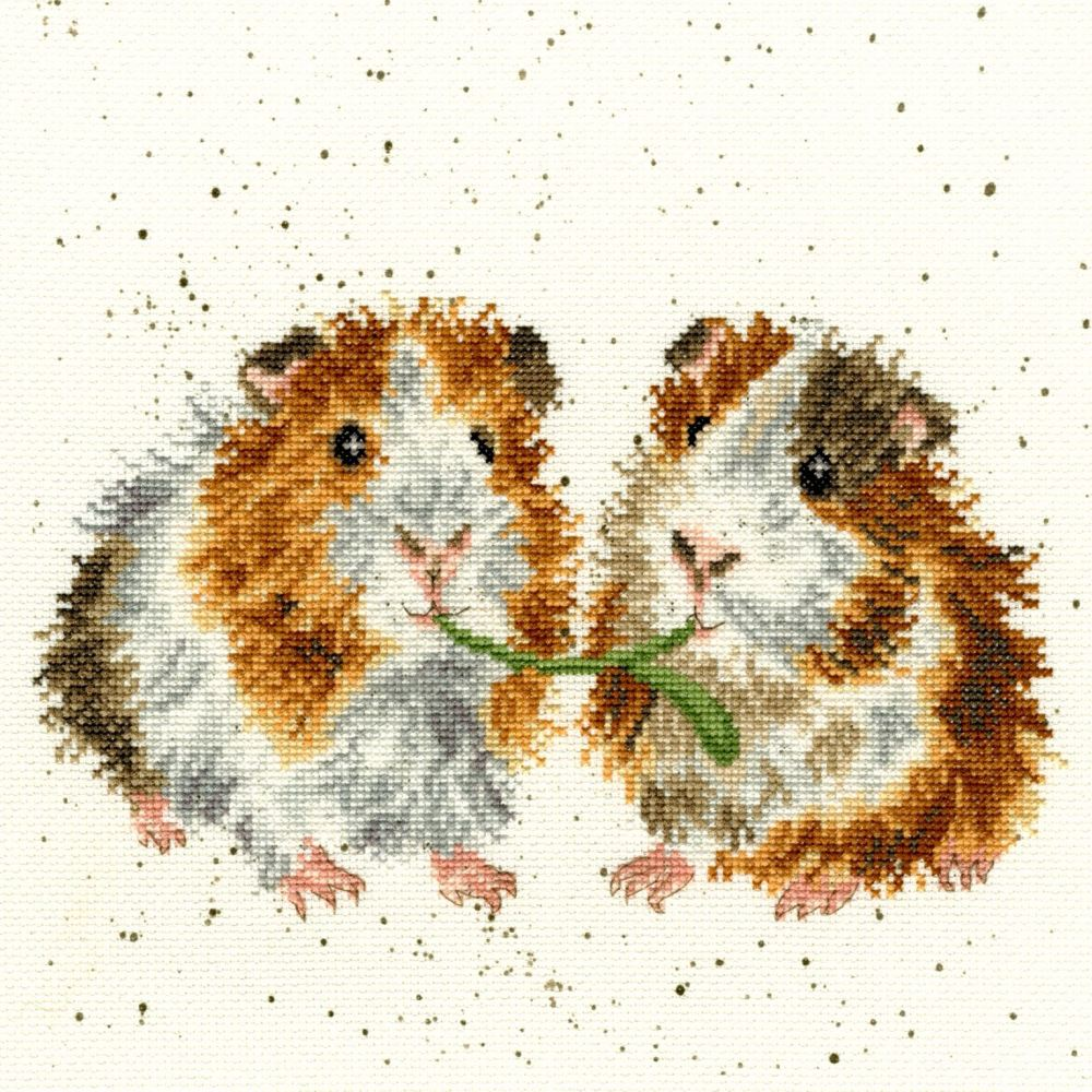 Lettuce Be Friends - Hannah Dale Cross Stitch - Bothy Threads