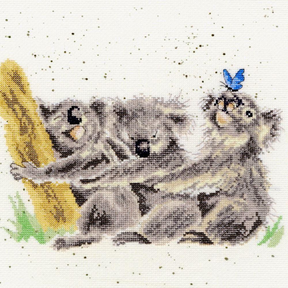 Three of a Kind - Hannah Dale Cross Stitch - Bothy Threads