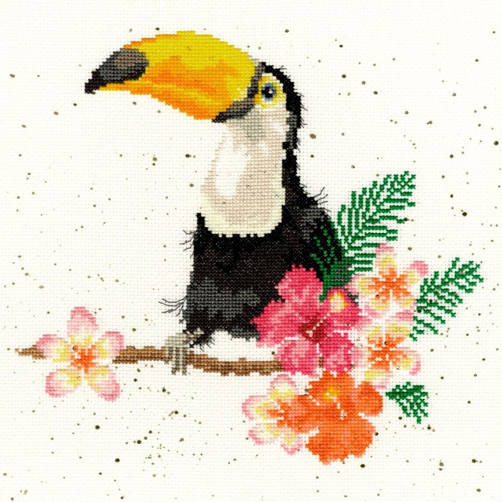 Toucan of My Affection - Hannah Dale Cross Stitch - Bothy Threads