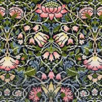 Bell Flower (William Morris) Cross Stitch