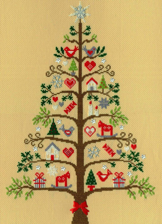Scandi Tree - Bothy Threads Cross Stitch