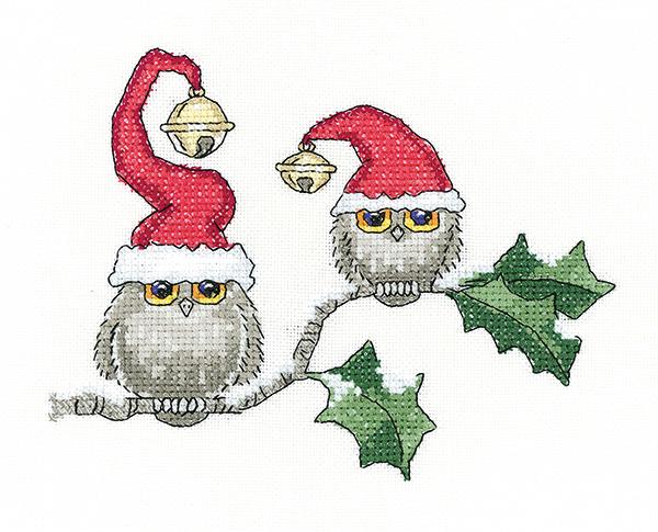 Ollie Owl and Ivy Cross Stitch