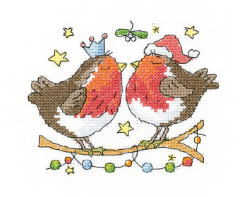 Christmas Kiss - Simply Heritage Cross Stitch