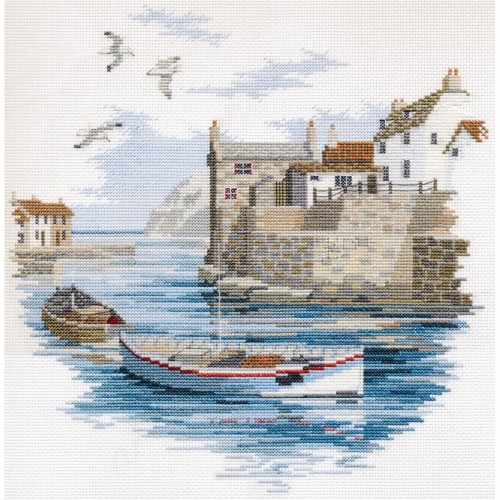Secluded Port Cross Stitch