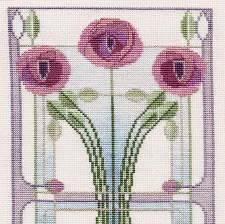 Mackintosh Cross Stitch - Art Nouveau
