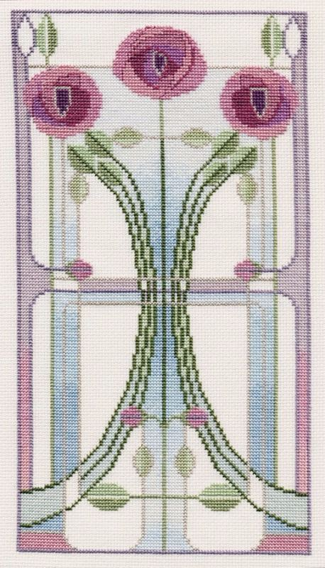 Rose Bouquet - Mackintosh Cross Stitch