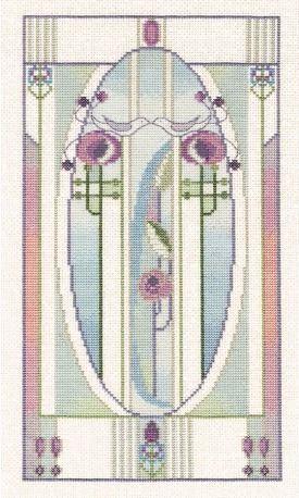 Love Birds - Mackintosh Cross Stitch
