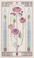 Oriental Rose - Mackintosh Cross Stitch