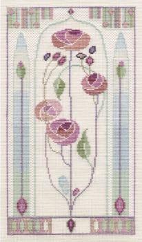 Oriental Rose - Mackintosh Cross Stitch
