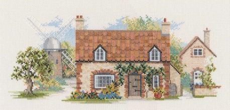 Old Mill Lane Cross Stitch