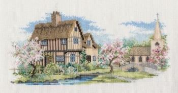 Blossom Lane Cross Stitch