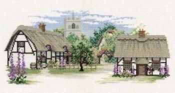 Foxglove Lane Cross Stitch