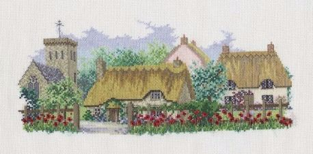 Poppyfield Lane Cross Stitch