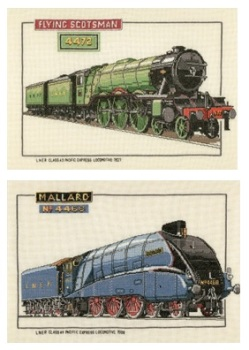 Flying Scotsman and Mallard Train Set