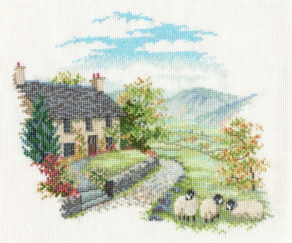 High Hill Farm Cross Stitch
