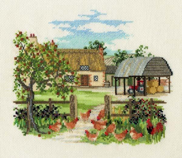 Appletree Farm Cross Stitch