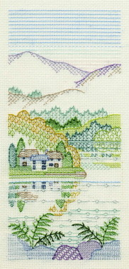 Bracken Cottages Creative Blackwork
