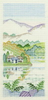 Bracken Cottages Creative Coloured Blackwork