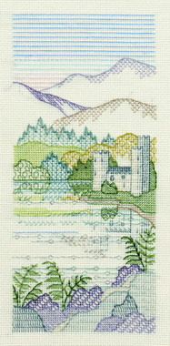 Brackenrigg Castle Creative Coloured Blackwork