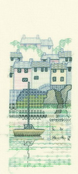 Harbour View Creative Coloured Blackwork