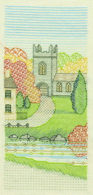 Church Walk Creative Coloured Blackwork