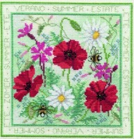 Summer - Seasons Cross Stitch