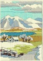 Mountain Winter - Wool Long Stitch