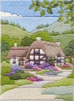 Summer Cottage - Wool Long Stitch
