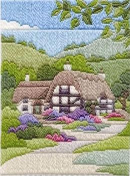 Summer Cottage - Wool Long Stitch