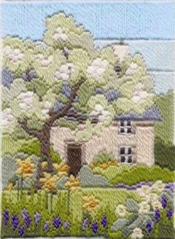 Spring Garden - Wool Long Stitch