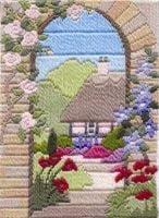 Summer Garden - Wool Long Stitch