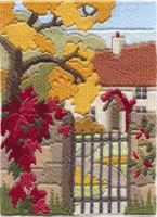 Autumn Garden - Wool Long Stitch