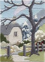 Winter Garden - Wool Long Stitch
