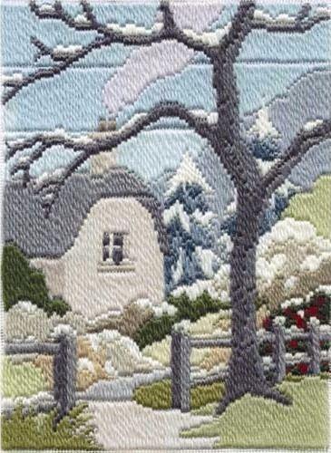 Winter Garden - Wool Long Stitch