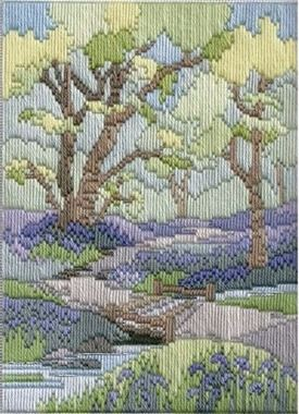 Spring Walk - Wool Long Stitch