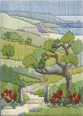 Summer Walk - Wool Long Stitch