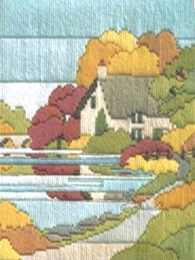 Autumn Walk - Wool Long Stitch