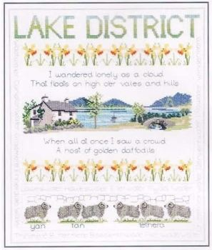 Lake District Cross Stitch Sampler