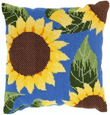 Sunflower Herb Pillow Tapestry